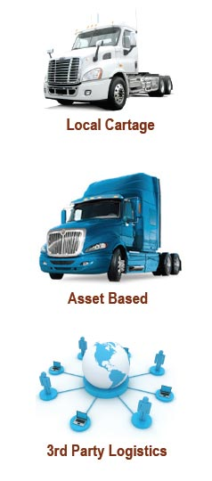 Local Cartage, Asset Based, 3rd party Logistics